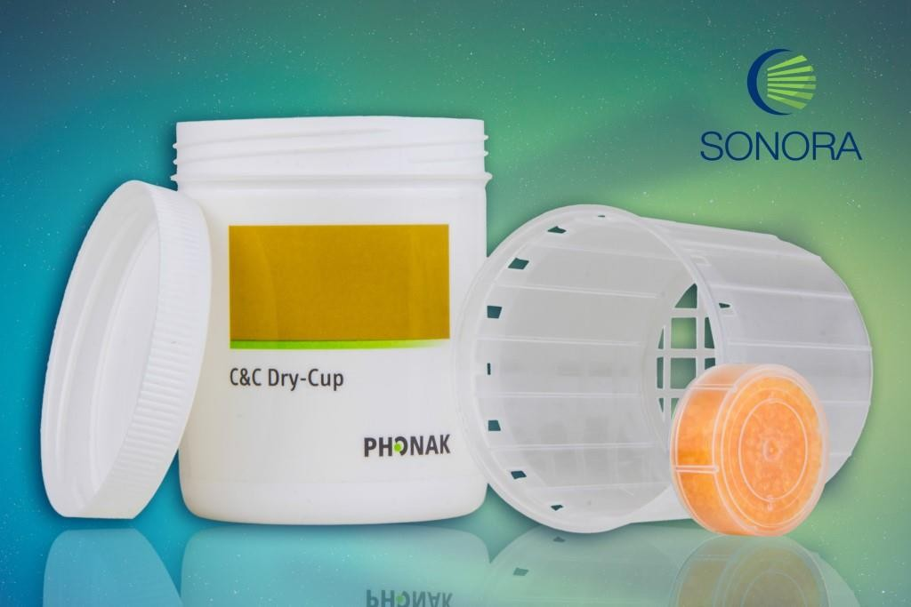 Dry-Cup - Recipiente Desumidificador C/ 1 Capsula Desumidificadora - PHONAK