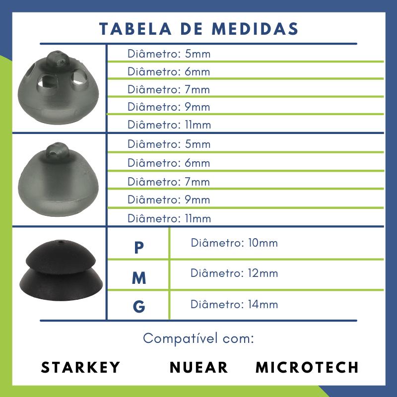 STARKEY - OLIVA - 10 UNIDADES  - SONORA