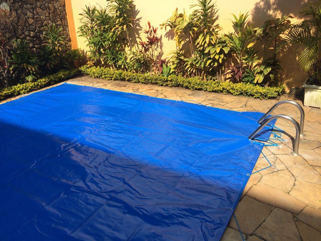 Capa de piscina 4x3 lonaleve 200 micras sob medida for Piscina desmontable 4x3
