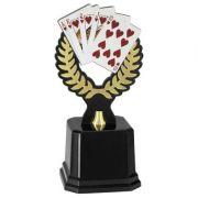 Troféu Poker PLM-221 28cm