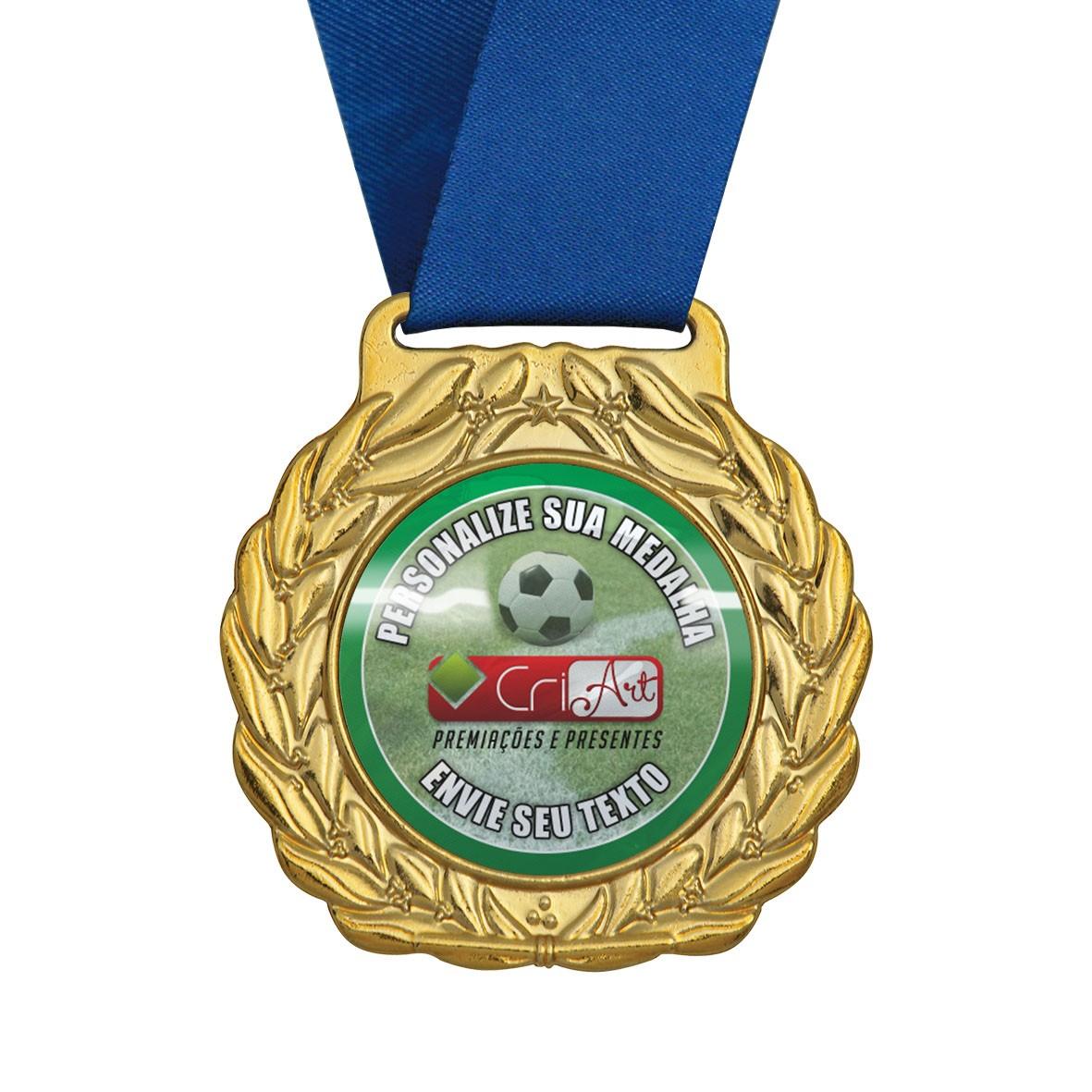 Medalha para Premiação MED500 4,0 / 6,0cm Vitória