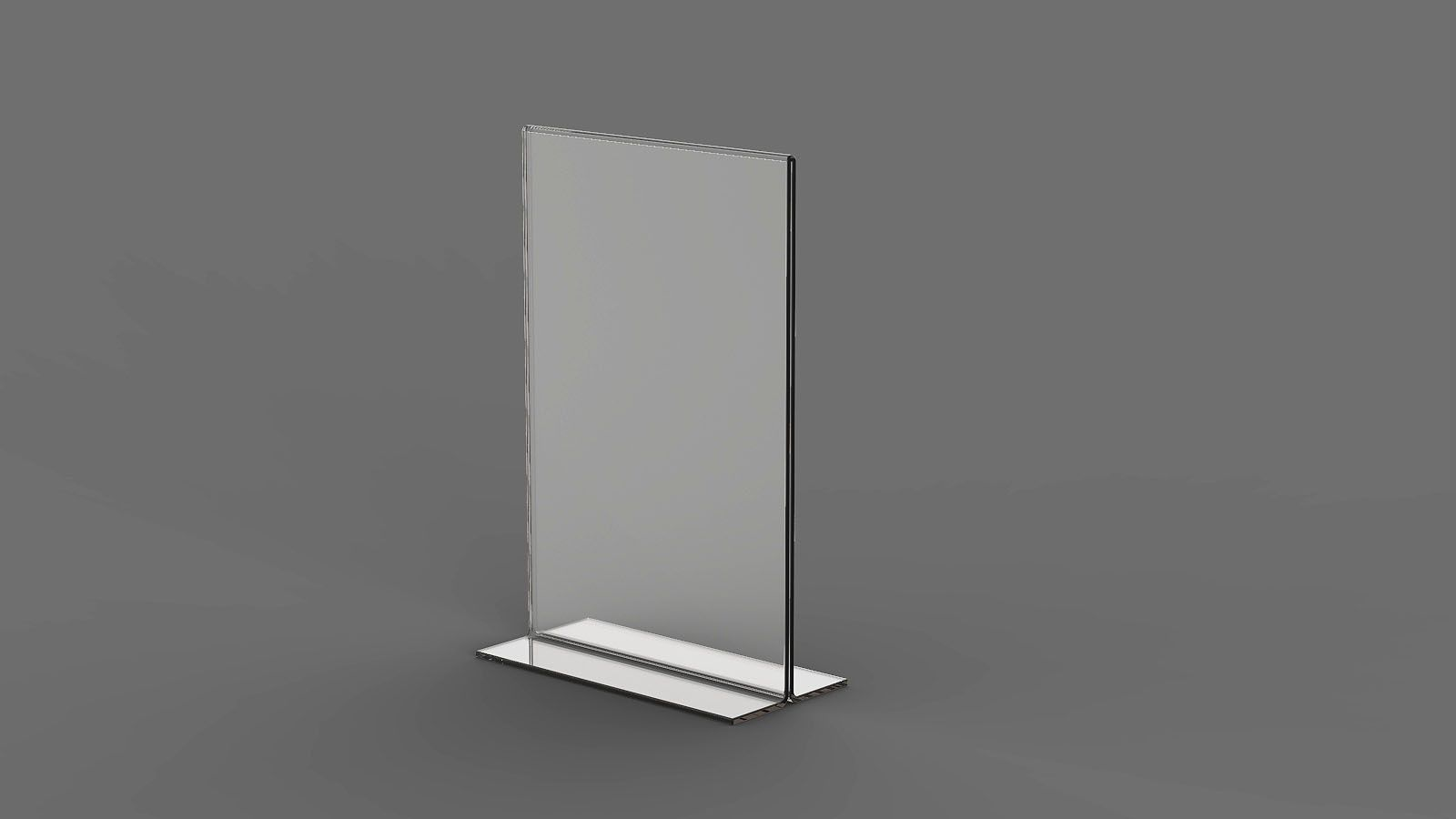 "Display em Acrilico ""T"" invertido ACR900"