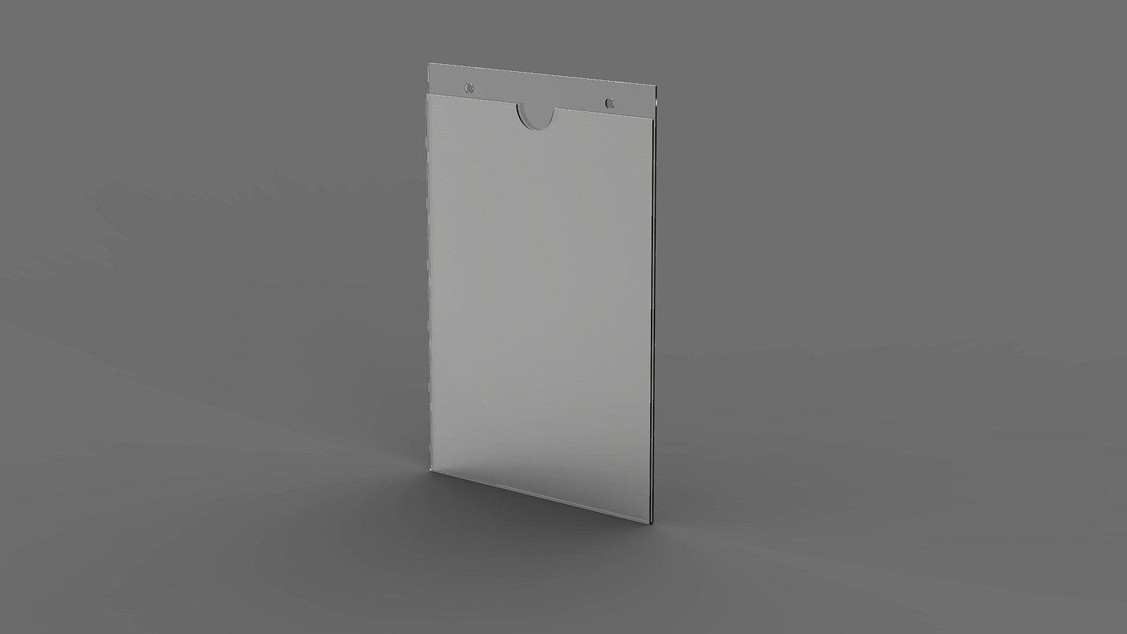 "Display em Acrilico ""U"" Vertical ACR1100"