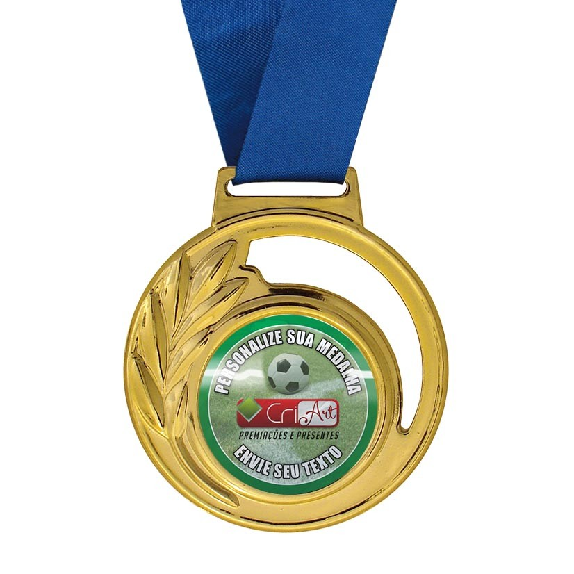Medalha para Premiação MED400 4,5cm Vitória