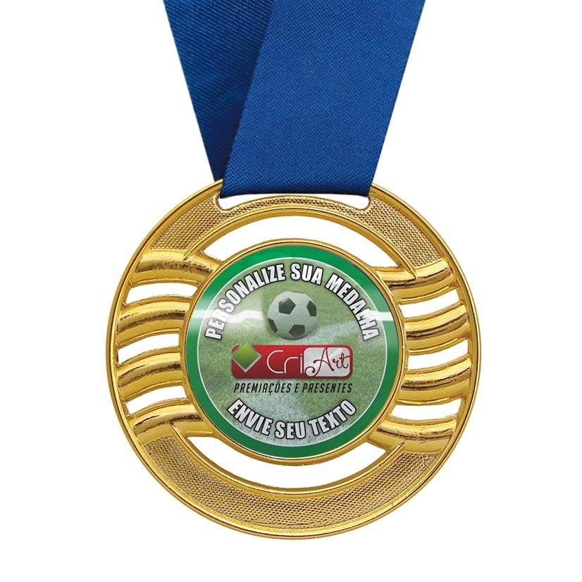 Medalha de Premiação MED1000 6,5cm Vitória