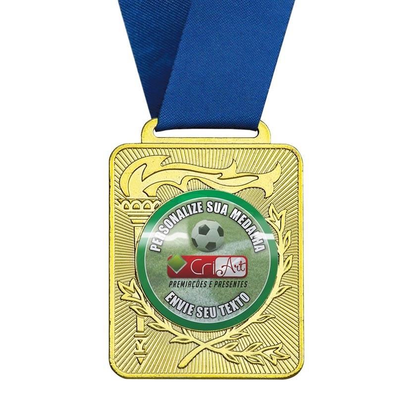 Medalha  de Premiação MED1500 6,0 x 5,0cm Vitória