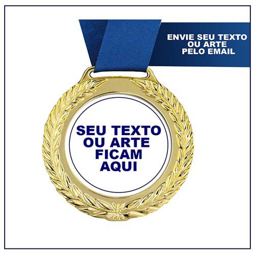 Medalha de Premiação MED1900 7,5cm Vitória