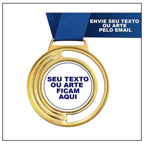Medalha de Premiação MED200 4,0 / 5,0cm Vitória