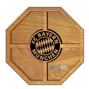 Petisqueira Bayern PTQ700<br>26 x 26 x 3,6cm</br>
