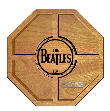 Petisqueira Beatles PTQ800<br>26 x 26 x 3,6cm</br>
