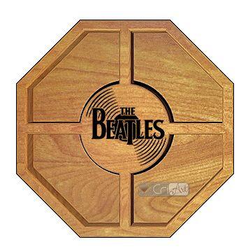 Petisqueira Beatles PTQ900<br>26 x 26 x 3,6cm</br>