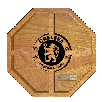 Petisqueira Chelsea PTQ1200<br>26 x 26 x 3,6cm</br>