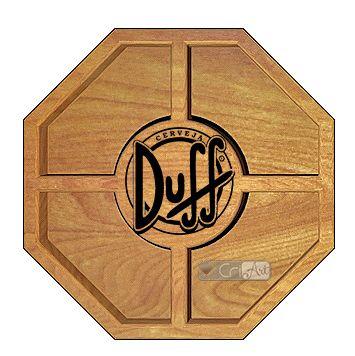 Petisqueira Duff PTQ1700<br>26 x 26 x 3,6cm</br>