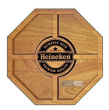 Petisqueira Heineken PTQ2300<br>26 x 26 x 3,6cm</br>