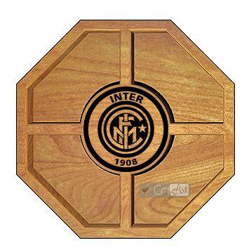 Petisqueira Inter de Milão PTQ2400<br>26 x 26 x 3,6cm</br>