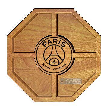 Petisqueira Paris Saint Germain PTQ3000<br>26 x 26 x 3,6cm</br>