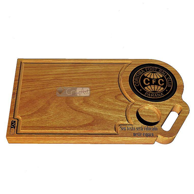 Tabua de Carne Coritiba TAB400<br>50 x 30 x 3,6cm</br>