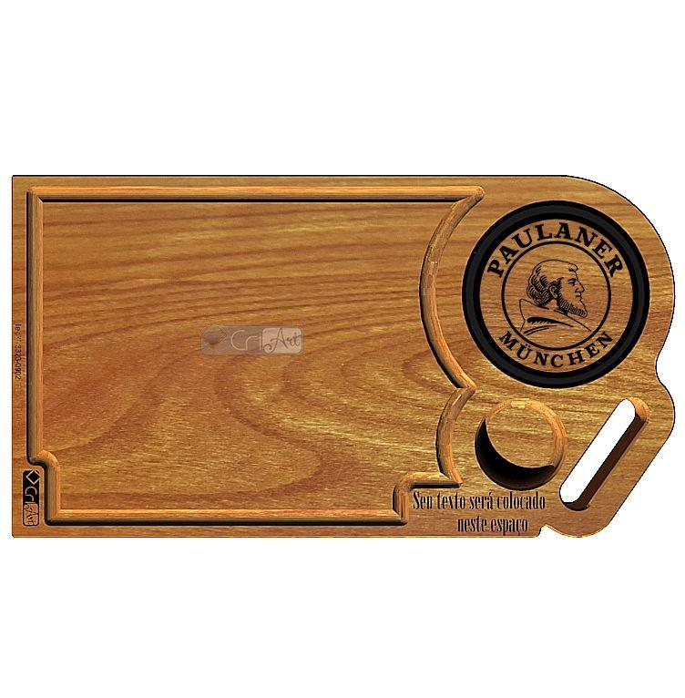 Tabua de Carne Paulaner TAB3400<br>50 x 30 x 3,6cm</br>
