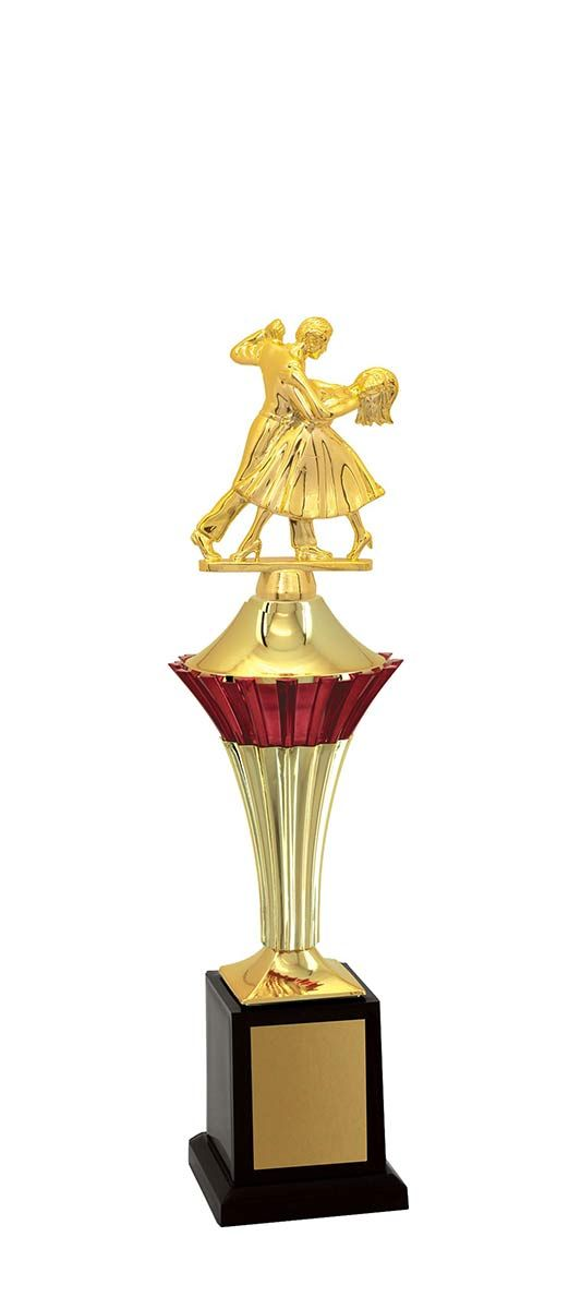 Troféu de Balé Dança BLE1100 37,5 / 32,5 / 27,5cm