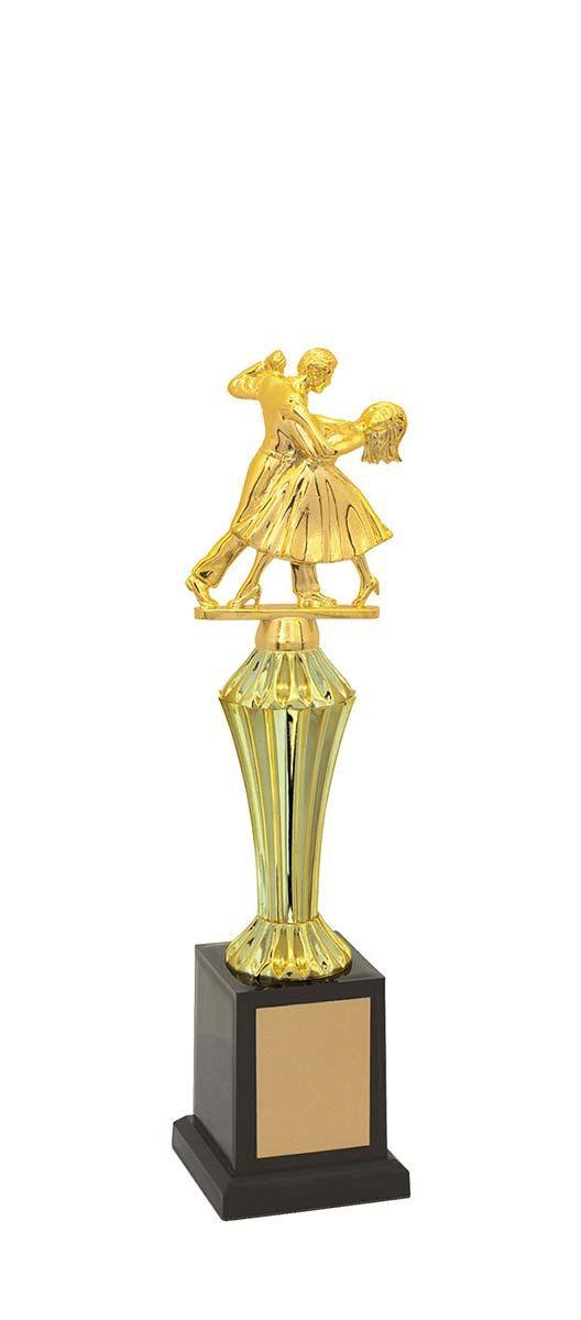 Troféu de Balé Dança BLE1200 32,5 / 28,1 / 23,8cm