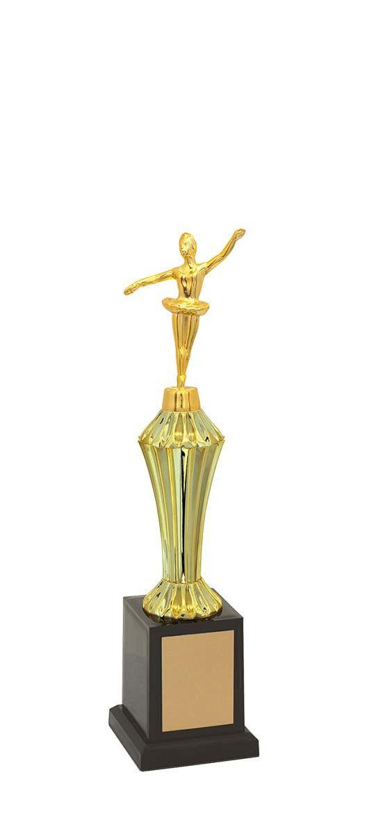 Troféu de Balé-Dança BLE1203  32,5 cm