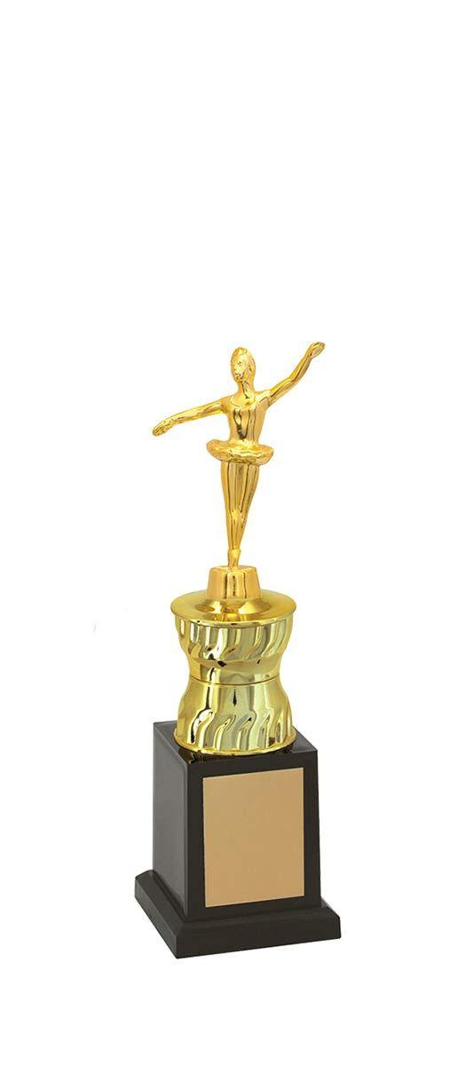 Troféu de Balé-Dança  BLE1303  27,5 / 24,5 / 22,5cm