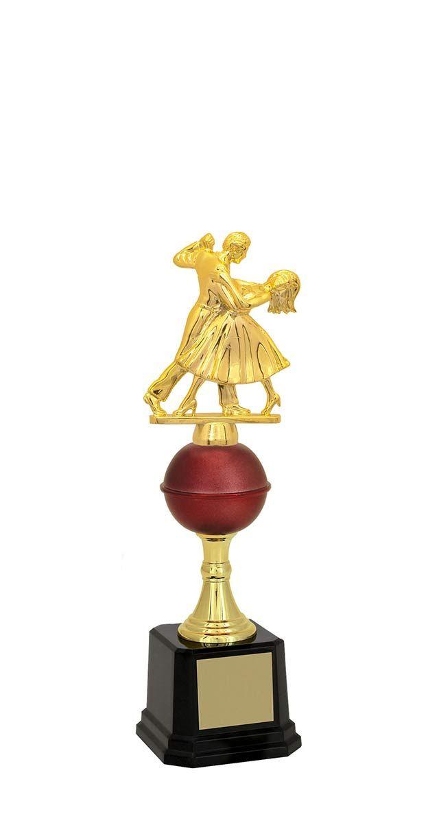 Troféu de Balé Dança BLE1700 29,5 / 27,5 / 26,2cm