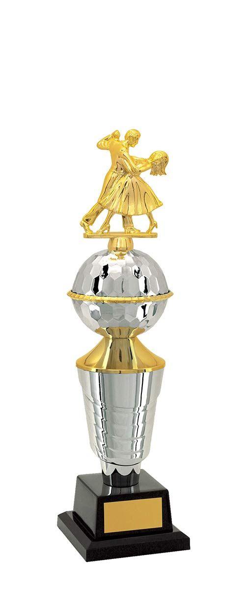 Troféu de Balé Dança BLE2600 41,5 / 39,5 / 38,5cm