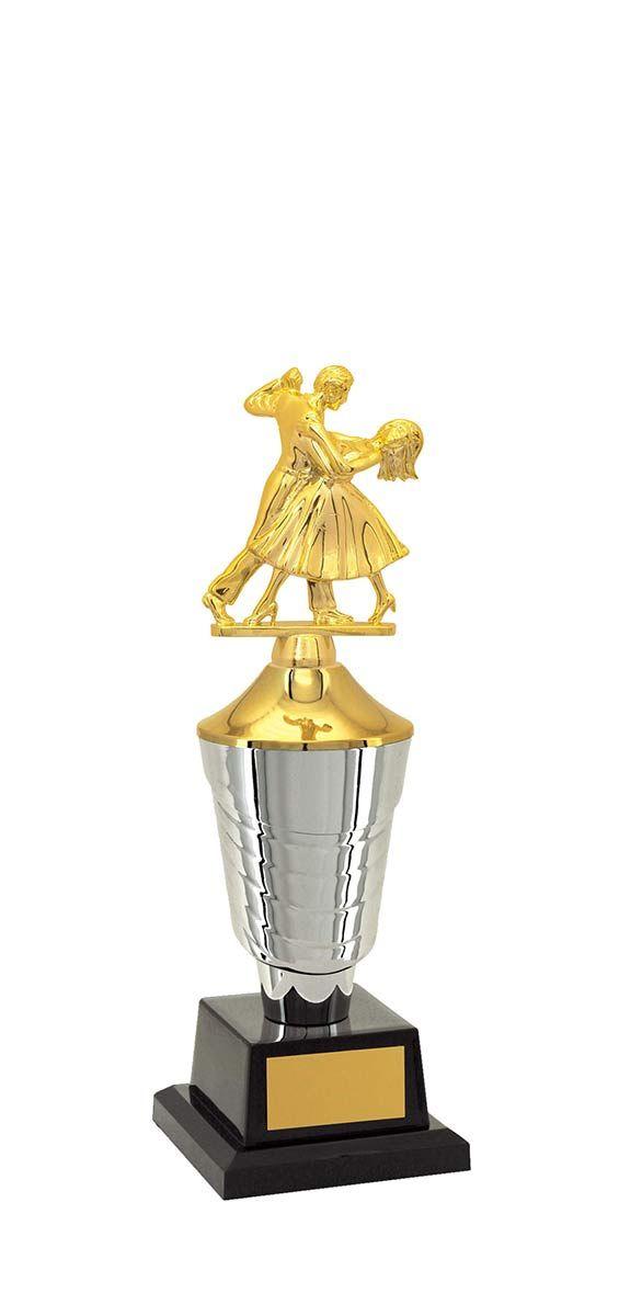 Troféu de Balé Dança BLE2700 32,5 / 30,5 / 28,5cm