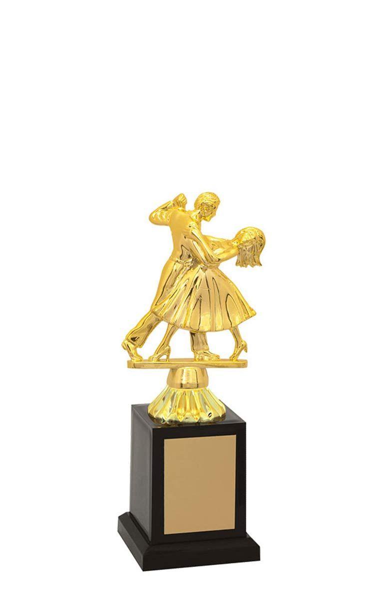 Troféu de Balé Dança BLE2800 22,5 / 19,5 / 17,5cm