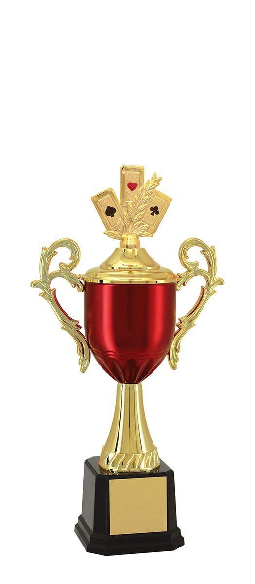 Troféu de Baralho BAR1003 52 cm