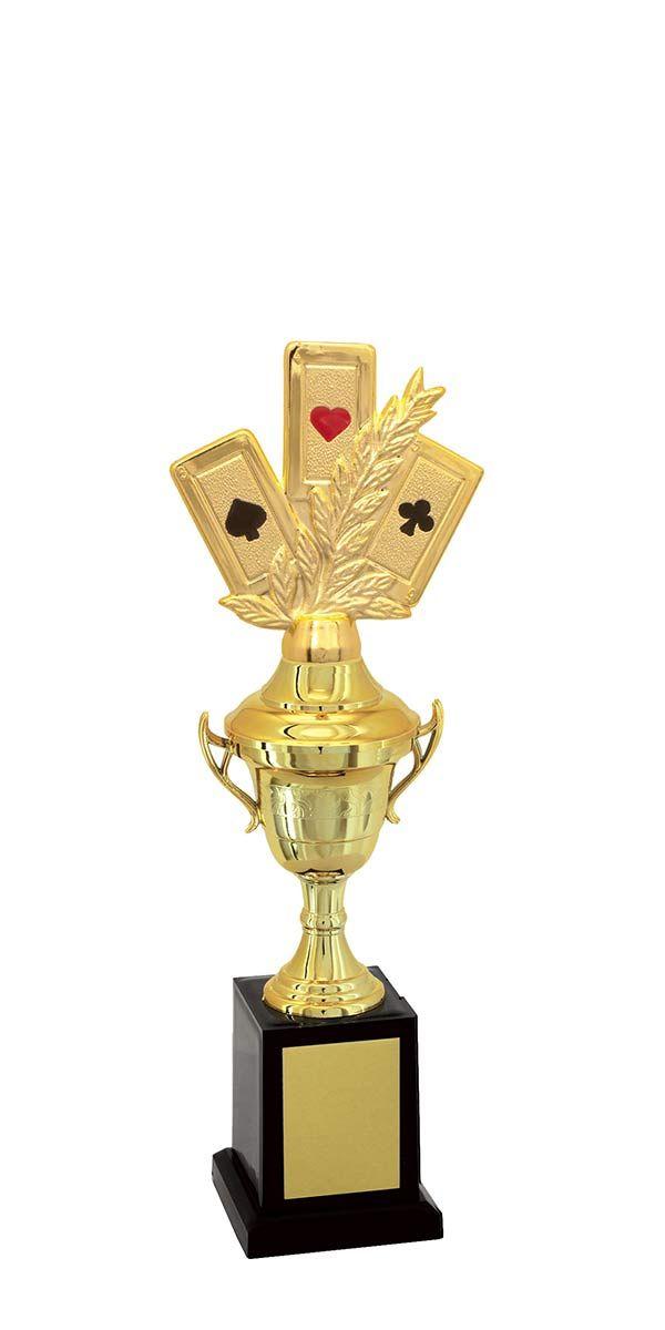 Troféu de Baralho BAR1903 30,5 cm