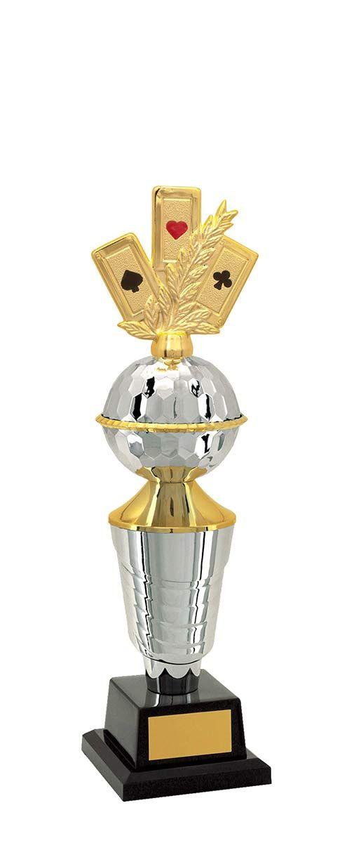 Troféu de Baralho BAR2603 39,5 cm