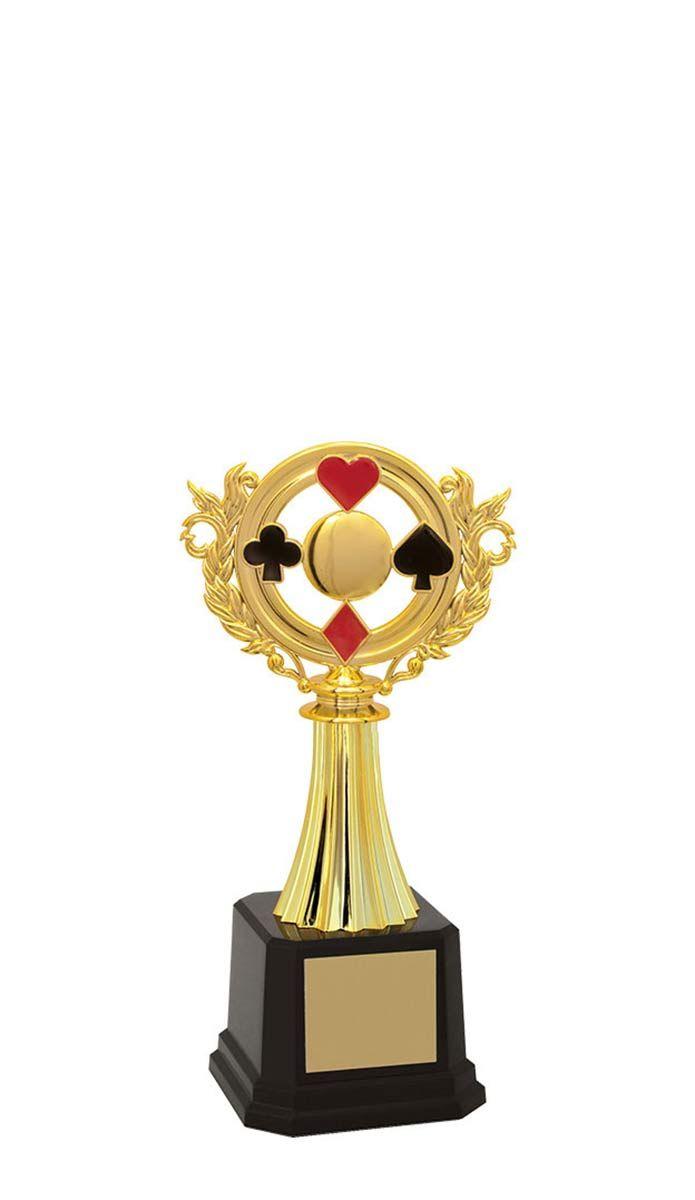 Troféu de Baralho BAR2900 22,5 cm