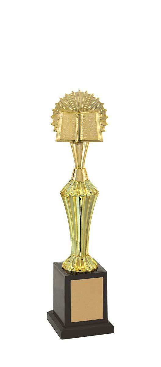 Troféu de Bíblia e Religião BBL1203 33cm Vitória