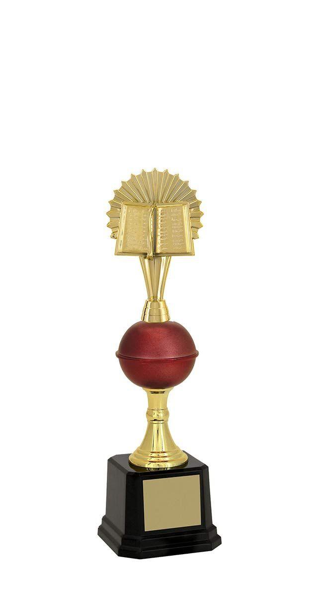 Troféu de Bíblia-Religião BBL1703<br> 30,5 / 28,5 / 27,2cm