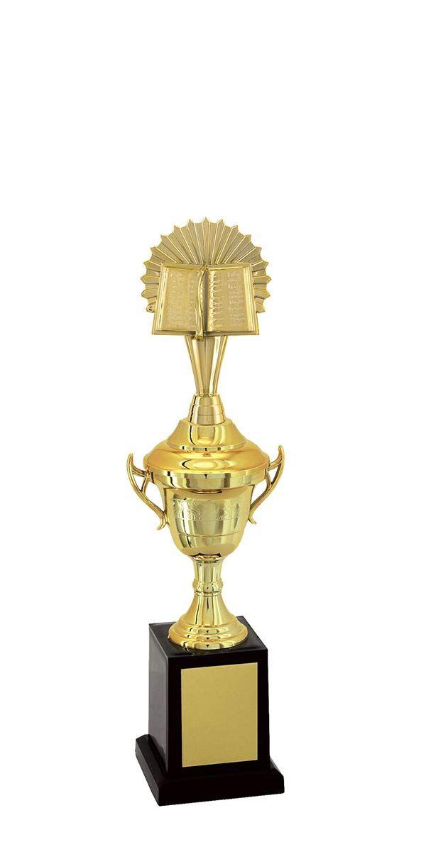 Troféu de Bíblia-Religião BBL1903<br> 34,5 / 31,5 / 28,5cm