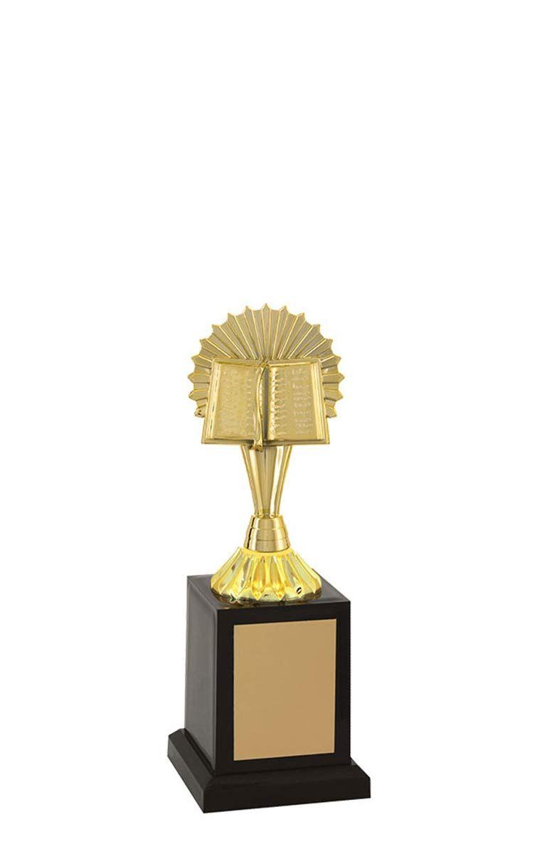 Troféu de Bíblia e Religião BBL2803 23 cm