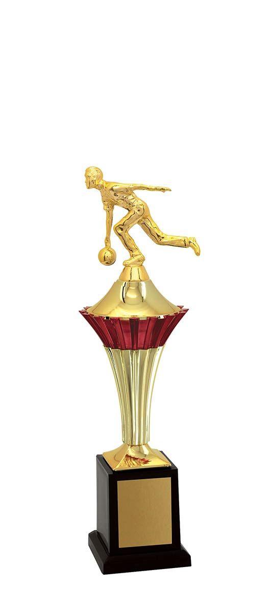 Troféu de Bolão-Boliche BOL1100<br> 36,0 / 31,0 / 26,0cm