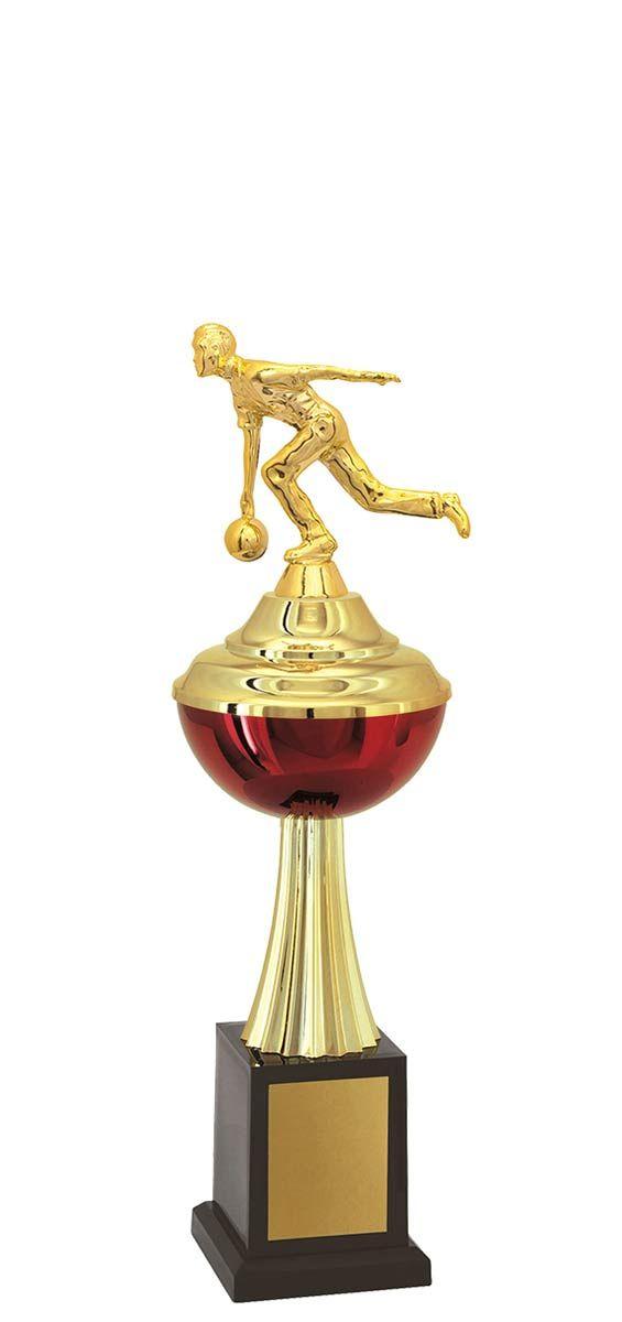 Troféu de Bolão-Boliche BOL1500<br> 34,0 / 30,0 / 26,0cm