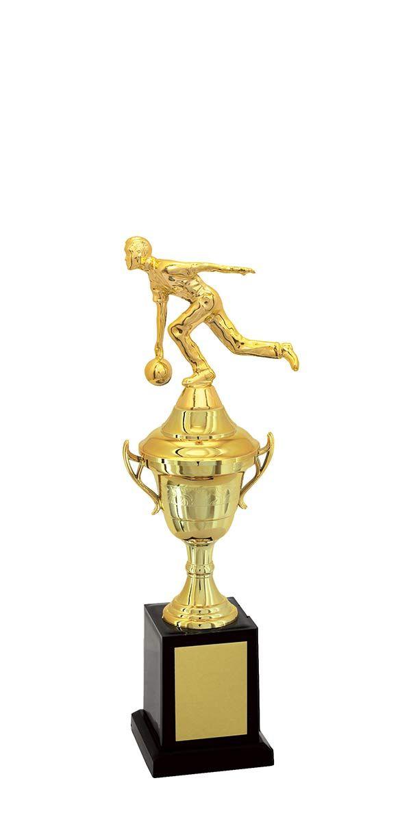 Troféu de Bolão-Boliche BOL1900<br> 32,0 / 29,0 / 26,0cm
