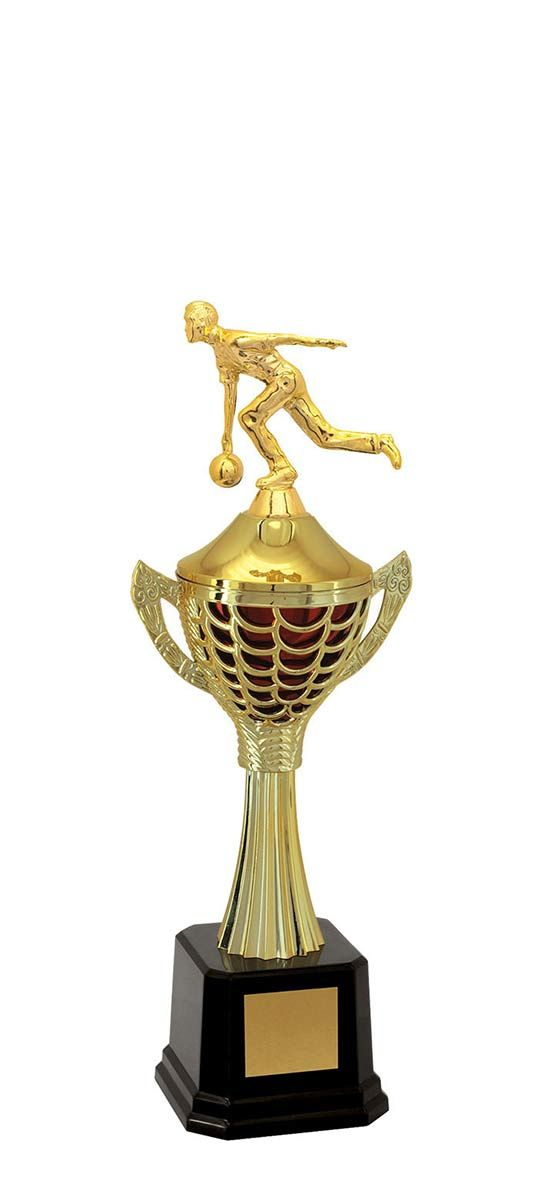 Troféu de Bolão-Boliche BOL2300<br> 39,0 / 35,5 / 33,0cm