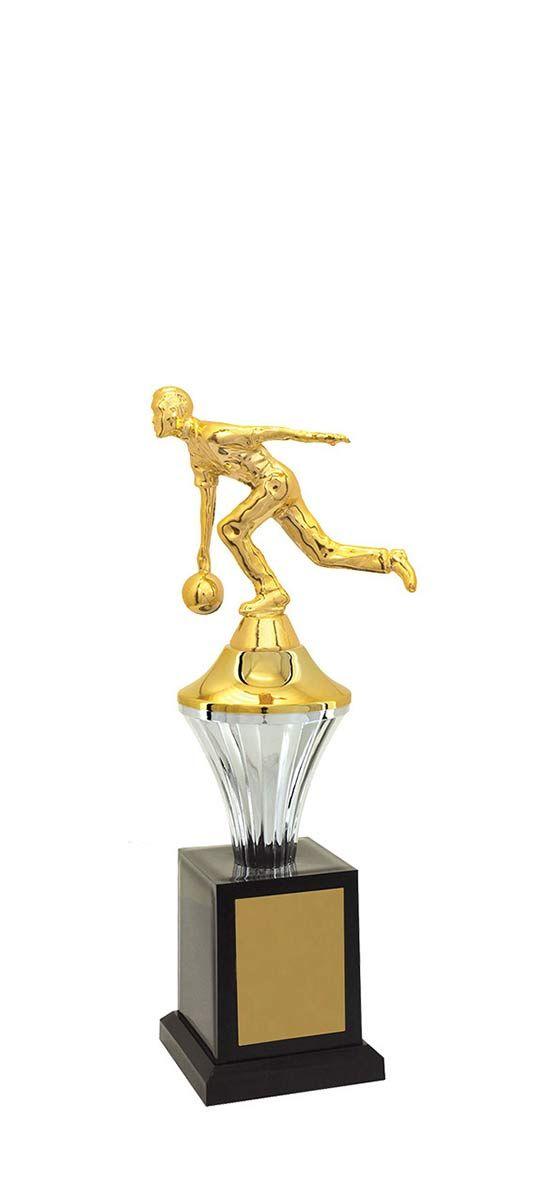 Troféu de Bolão-Boliche BOL2500<br> 28,0 / 25,0 / 23,0cm