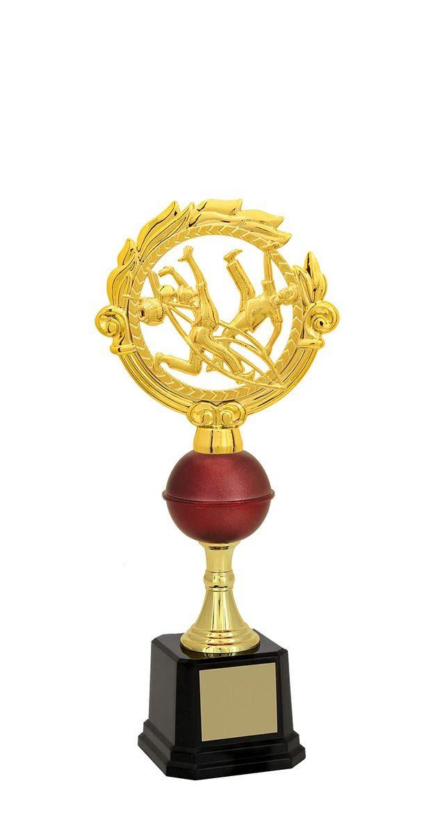 Troféu de Capoeira CAP1700 31,5 / 29,5 / 28,2cm