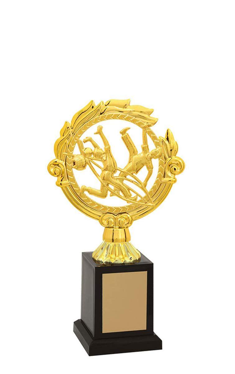 Troféu de Capoeira CAP2800 24,5 / 21,5 / 19,5cm