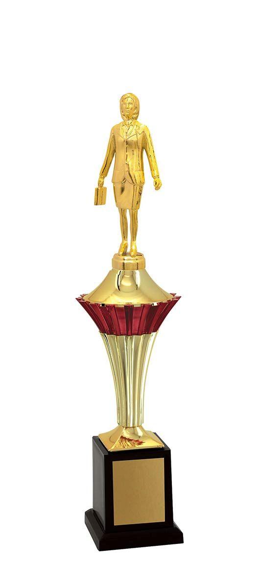 Troféu de Executivo Feminino EXE1100 42cm Vitória