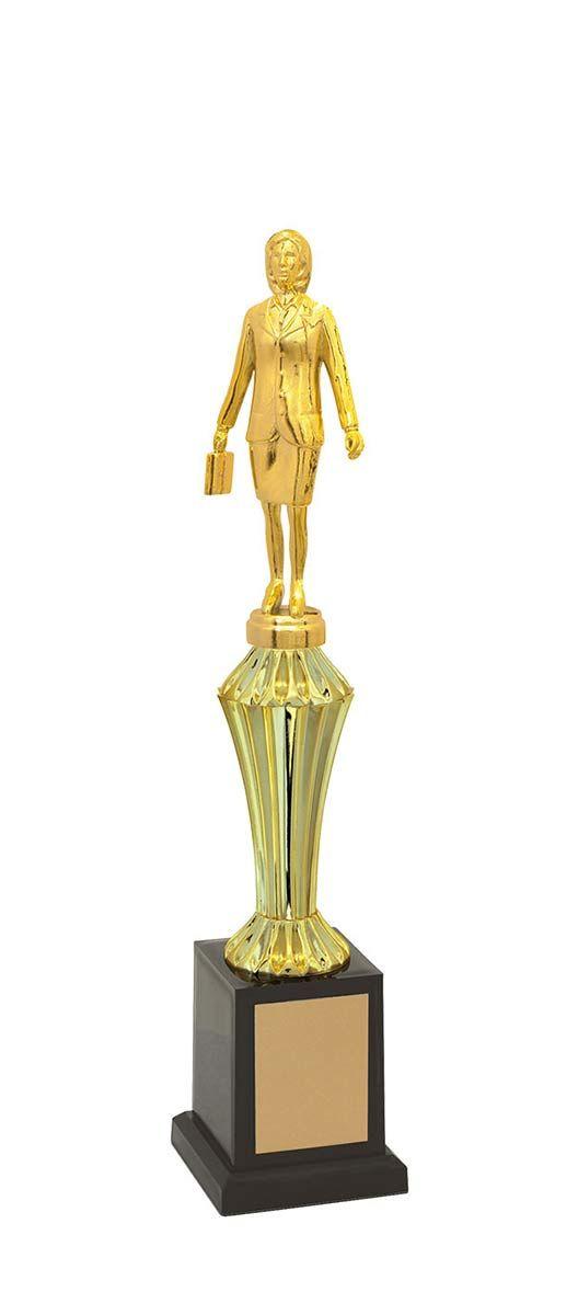 Troféu de Executivo Feminino EXE1200 37cm Vitória