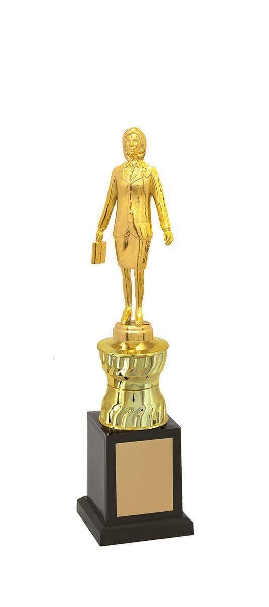Troféu de Executivo Feminino EXE1300 32,0 / 29,0 / 27,0cm