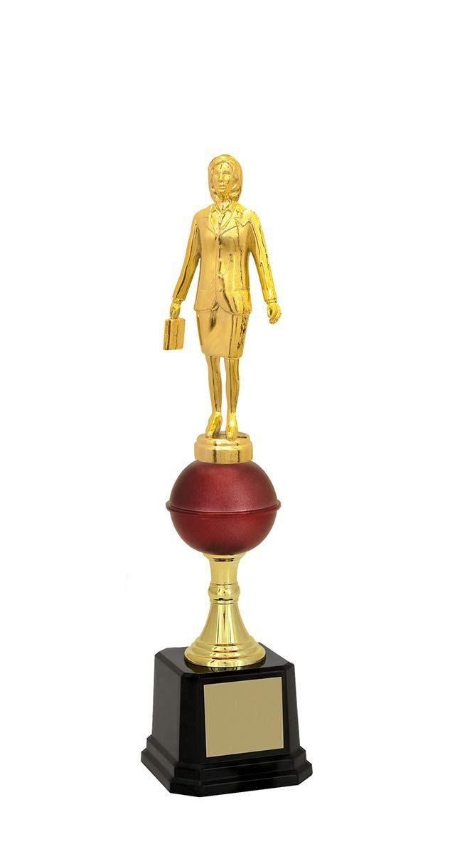 Troféu de Executivo Feminino EXE1700 34,0 / 32,0 / 30,7cm