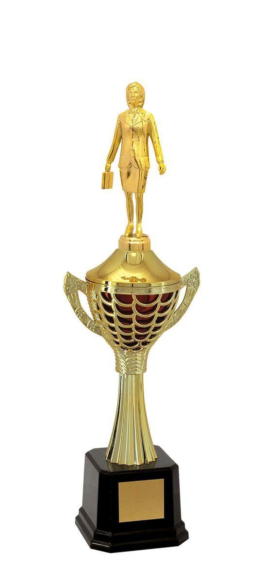 Troféu de Executivo Feminino EXE2300 45cm Vitória